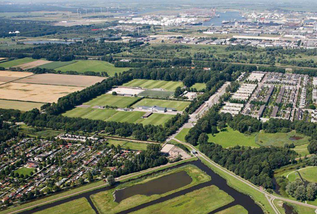 Tuinen Van West.Wandelen Tuinen Van West Sportpark De Eendracht