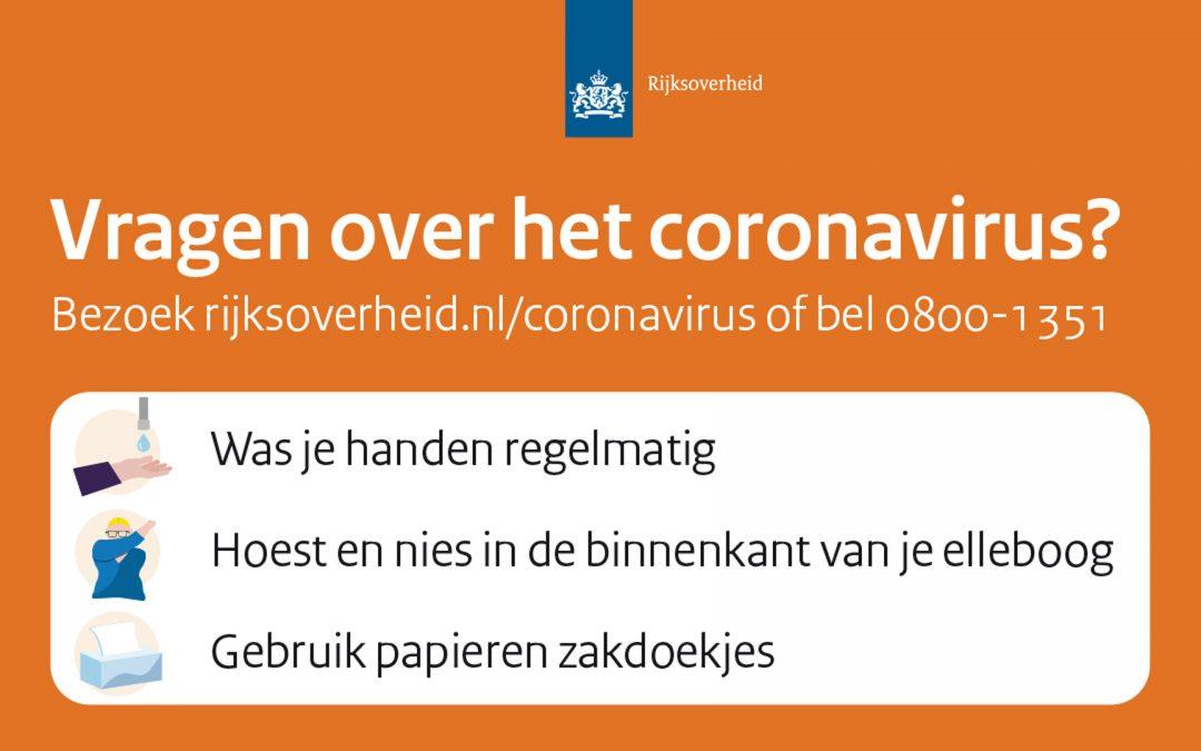 Corona virus ** update **